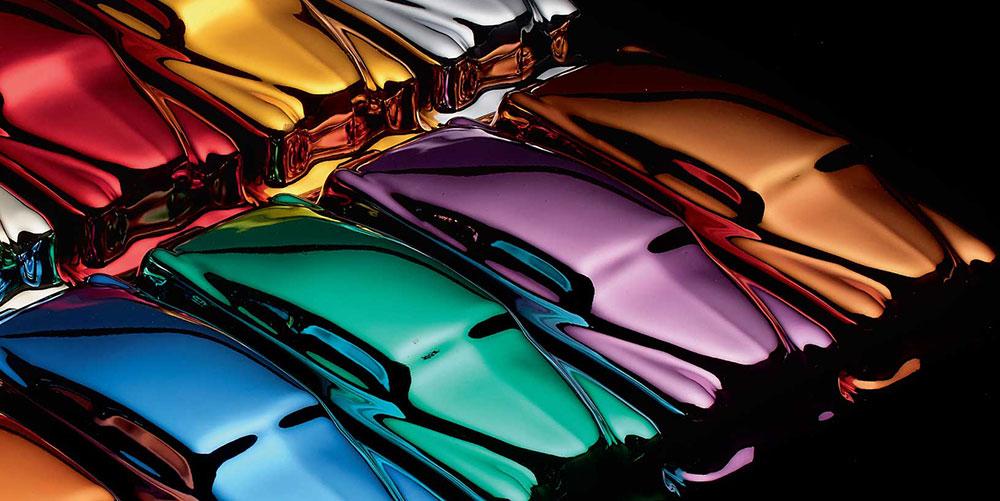 chrome spray colours